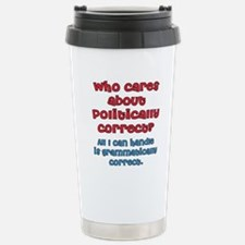 Grammatically Correct Travel Mug