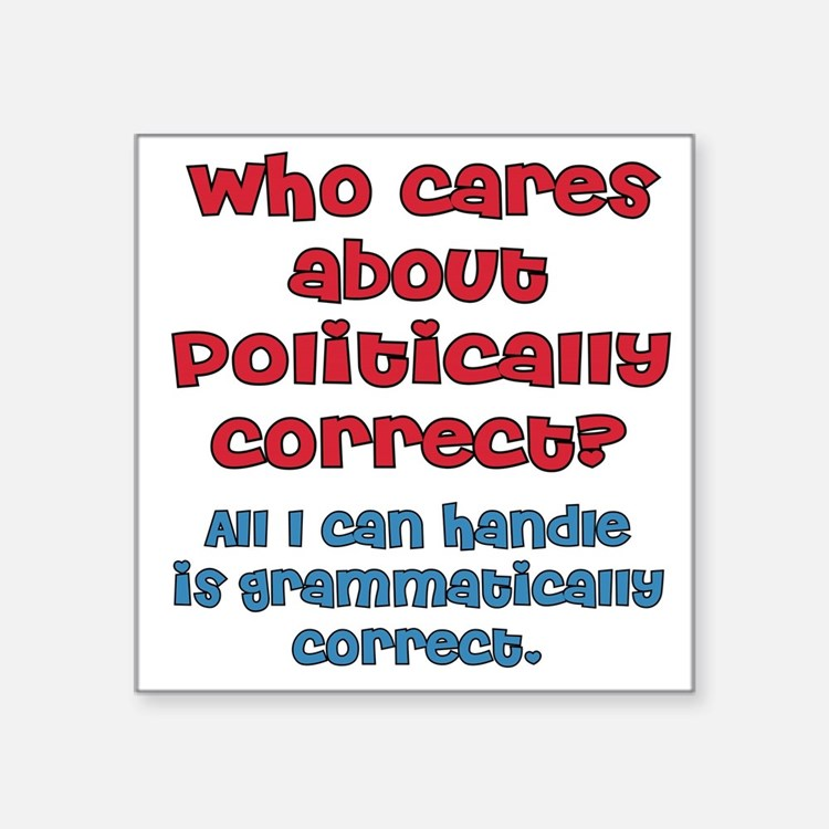Grammatically Correct Sticker