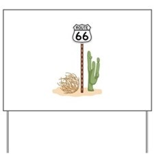 Route 66 Yard Sign