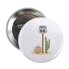 """Route 66 2.25"""" Button (10 pack)"""