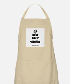 Best Cop in the World Apron