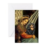 Madonna & Cavalier (BT) Greeting Cards (Pk of 20)