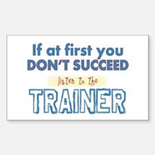 Trainer Decal