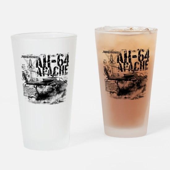 AH-64 Apache Drinking Glass
