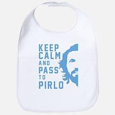 Keep calm and pass to Pirlo Bib
