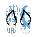 Keep calm and pass to Pirlo Flip Flops