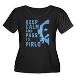Keep calm and pass to Pirlo Plus Size T-Shirt