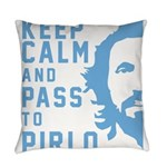 Keep calm and pass to Pirlo Everyday Pillow