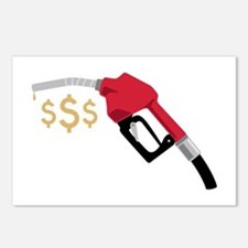 Gas Pump Money Postcards (Package of 8)
