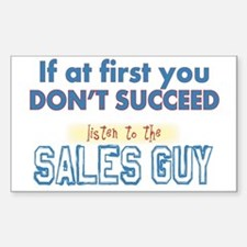 Sales Guy Decal