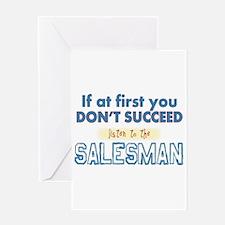Salesman Greeting Cards