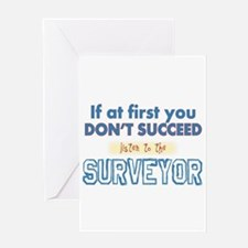 Surveyor Greeting Cards
