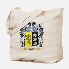 Lacy Coat of Arms - Family Crest Tote Bag