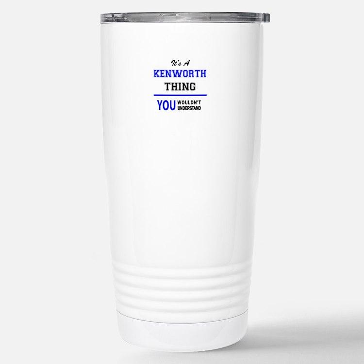 Cute Kenworth Travel Mug