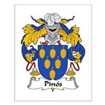 Pinos Family Crest Small Poster