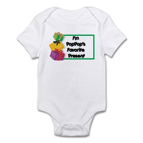 PopPop's Favorite Present Infant Bodysuit
