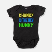 Chunky is the new hunky Baby Bodysuit