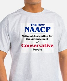 The New NAACP Ash Grey T-Shirt