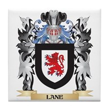 Lane- Coat of Arms - Family Crest Tile Coaster
