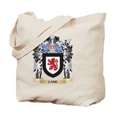 Lane- Coat of Arms - Family Crest Tote Bag