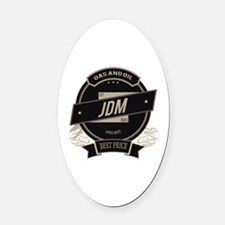 JDM Japanese Import Oval Car Magnet