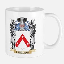 Langland Coat of Arms - Family Crest Mugs