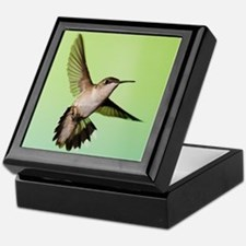 Female Hummingbird Keepsake Box