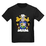 Pidal Family Crest Kids Dark T-Shirt