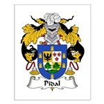 Pidal Family Crest Small Poster