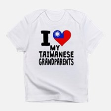 I Heart My Taiwanese Grandparents Infant T-Shirt