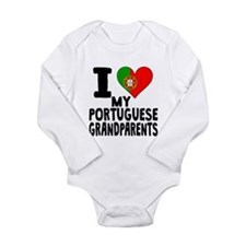 I Heart My Portuguese Grandparents Body Suit