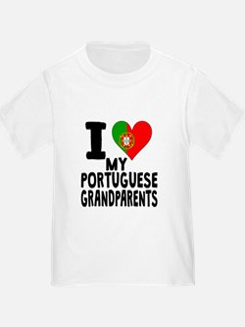 I Heart My Portuguese Grandparents T-Shirt