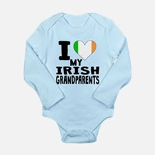 I Heart My Irish Grandparents Body Suit