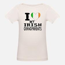 I Heart My Irish Grandparents T-Shirt