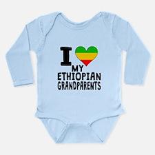 I Heart My Ethiopian Grandparents Body Suit