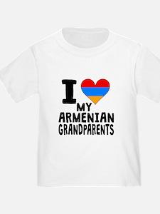 I Heart My Armenian Grandparents T-Shirt