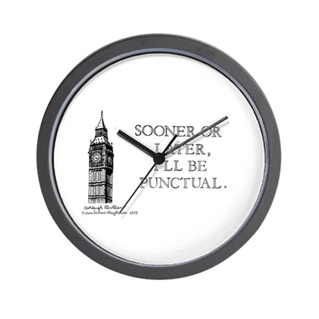 313 Wall Clock