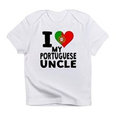 I Heart My Portuguese Uncle Infant T-Shirt