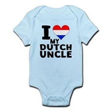 I Heart My Dutch Uncle Body Suit