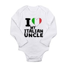 I Heart My Italian Uncle Body Suit