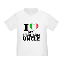 I Heart My Italian Uncle T-Shirt