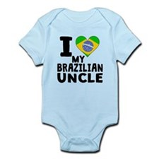 I Heart My Brazilian Uncle Body Suit