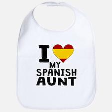 I Heart My Spanish Aunt Bib