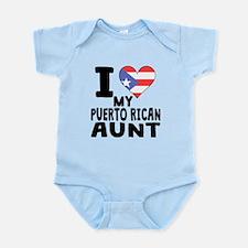 I Heart My Puerto Rican Aunt Body Suit