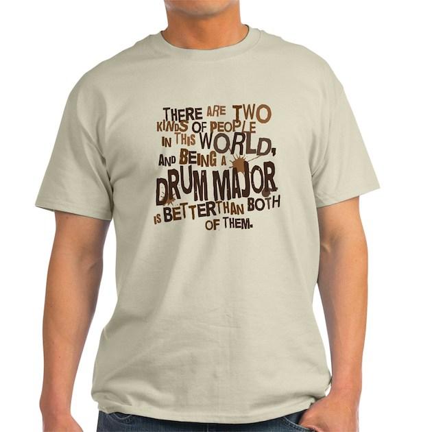 Drum Major T Shirt Designs