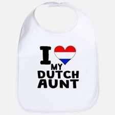 I Heart My Dutch Aunt Bib