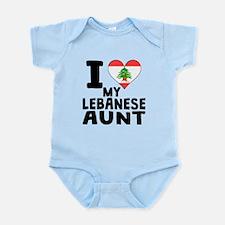 I Heart My Lebanese Aunt Body Suit