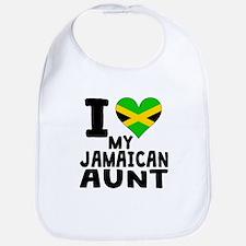 I Heart My Jamaican Aunt Bib