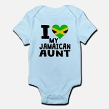 I Heart My Jamaican Aunt Body Suit
