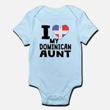 I Heart My Dominican Aunt Body Suit